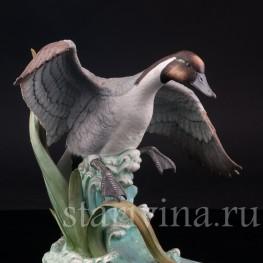 Фигурка птицы из фарфора Шилохвость, Andrea, США,, вт. пол. 20 в.